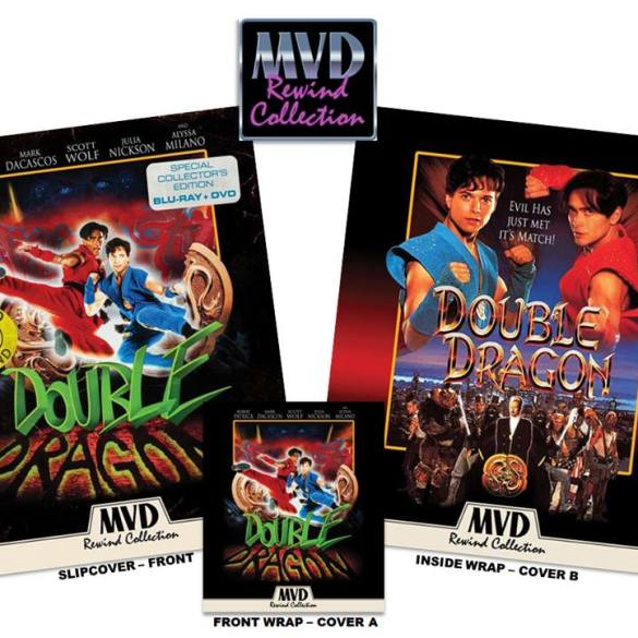 double dragon blu-ray