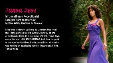 Black Shampoo JTanya Boyd Text Interview
