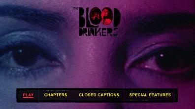 The Blood Drinkers Blu-ray menu