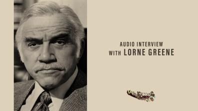 Earthquake Lorne Greene audio interview