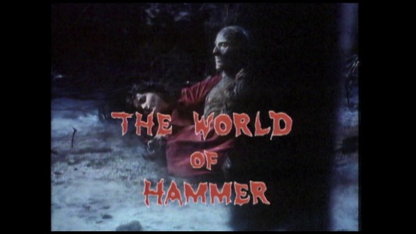 Frankenstein Created Woman The World of Hammer Peter Cushing 1