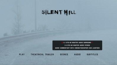 Silent Hill audio menu
