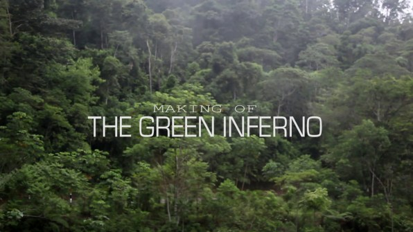 The Green Inferno Making of The Green Inferno 1