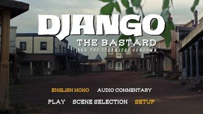 Django the Bastard audio menu
