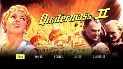 Quatermass II Blu-ray menu