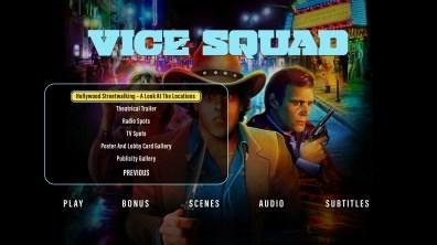 Vice Squad extras menu 2