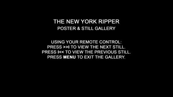 The New York Ripper poster & still gallery 1