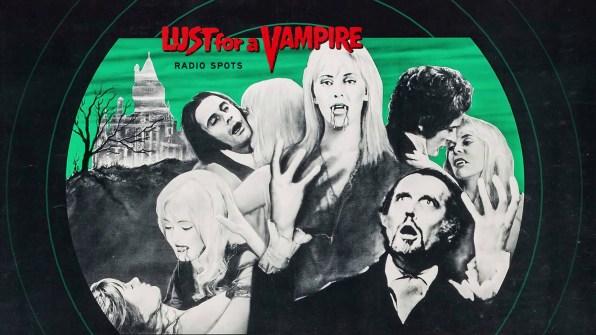 Lust for a Vampire radio spots