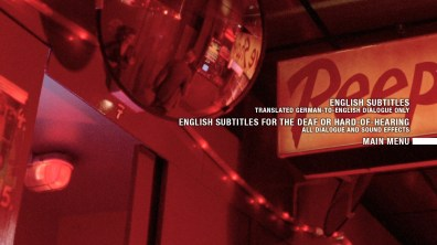 Decoder subtitles menu