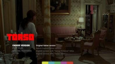 Torso Blu-ray menu