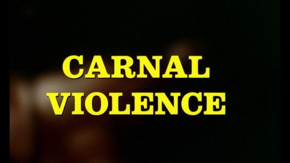 Torso English Carnal Violence title card