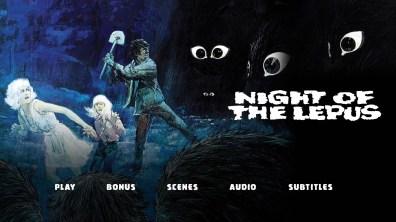 Night of the Lepus Menu