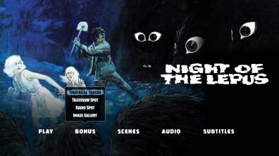 Night of the Lepus Bonus Menu