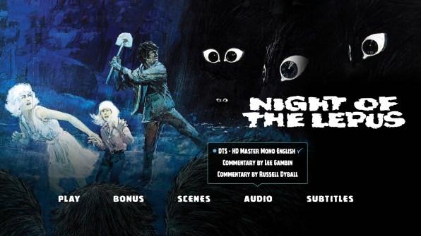 Night of the Lepus Audio Menu