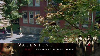 Valentine Blu Menu