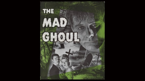 The Mad Ghoul promo kit 1