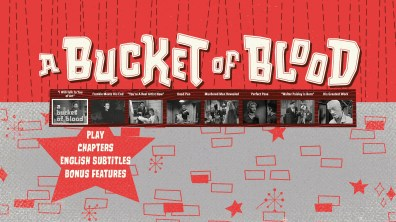 A Bucket of Blood Blu-ray Chapter Menu