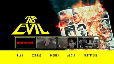 Fear No Evil Blu-ray Chapter Menu