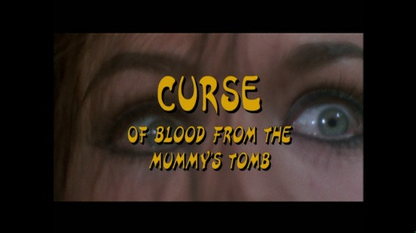 Blood from the Mummy's Tomb Curse of featurette 1