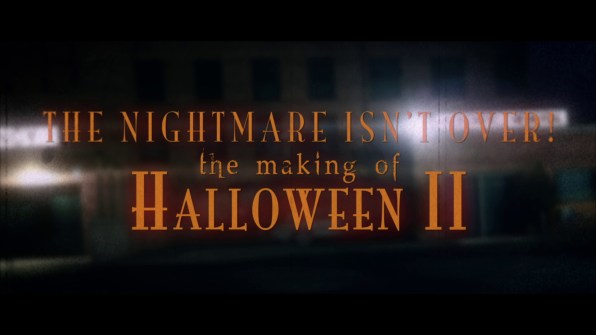 Halloween II Making of Halloween II 1