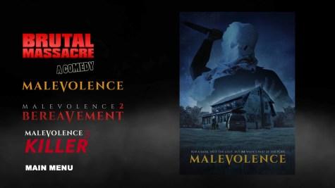 Malevolence Blu-ray Trailers Menu