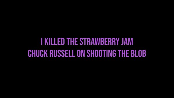 The Blob Chuck Russell interview part 2 cap 1