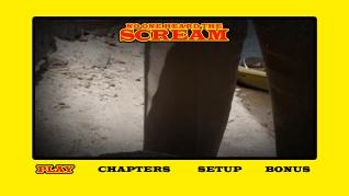 No One Heard the Scream Blu-ray menu