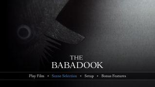 The Babadook UHD Menu