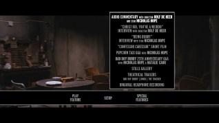 Bad Boy Bubby Blu-ray Extras Menu