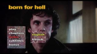 Born for Hell Blu-ray Audio Menu