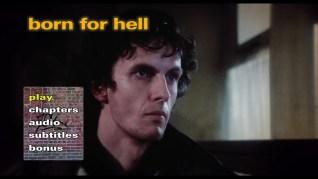 Born for Hell Blu-ray Menu