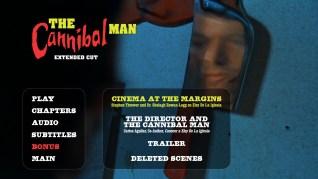 Cannibal Man Extended Cut Blu-ray Extras Menu