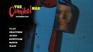 Cannibal Man Extended Cut Blu-ray Menu