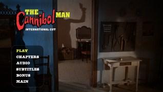Cannibal Man International Cut Blu-ray Menu