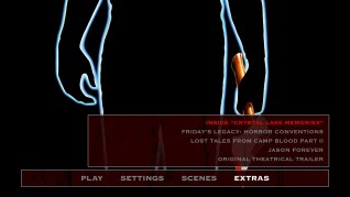 Friday the 13th Part II Extras Menu