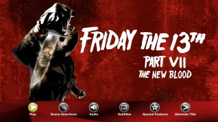 Paramount Pictures Friday the 13th Part VII: The New Blood Blu-ray Menu