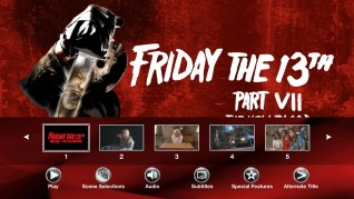 Paramount Pictures Friday the 13th Part VII: The New Blood Blu-ray Scenes Menu