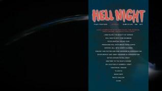 Hell Night Extras Menu