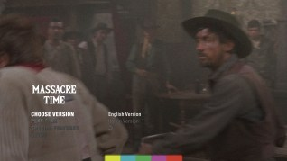 Massacre Time Blu-ray Menu