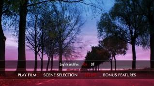 Raw Blu-ray Setup Menu