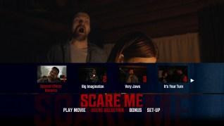 Scare Me Blu-ray Scenes Menu
