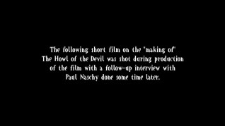 The Howl of the Devil making of featurette