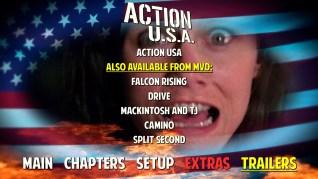 Action U.S.A. Blu-ray Trailers Menu