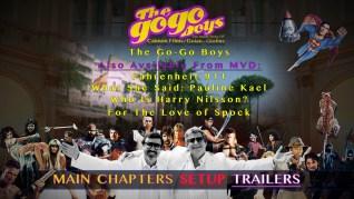 The Go-Go Boys Blu-ray Trailers Menu
