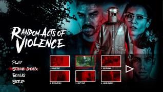 Random Acts of Violence Blu-ray Scenes Menu