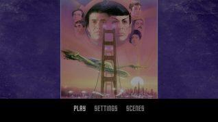 Star Trek IV: The Voyage Home 4K UHD Menu