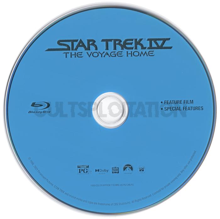 Star Trek IV: The Voyage Home Blu-ray Disc