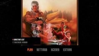 Star Trek II: The Wrath of Khan Blu-ray Menu