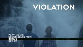 Violation Blu-ray Extras Menu