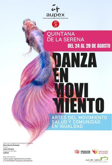 El taller 'Danza en movimiento' comenzará el próximo 24 de agosto en Quintana